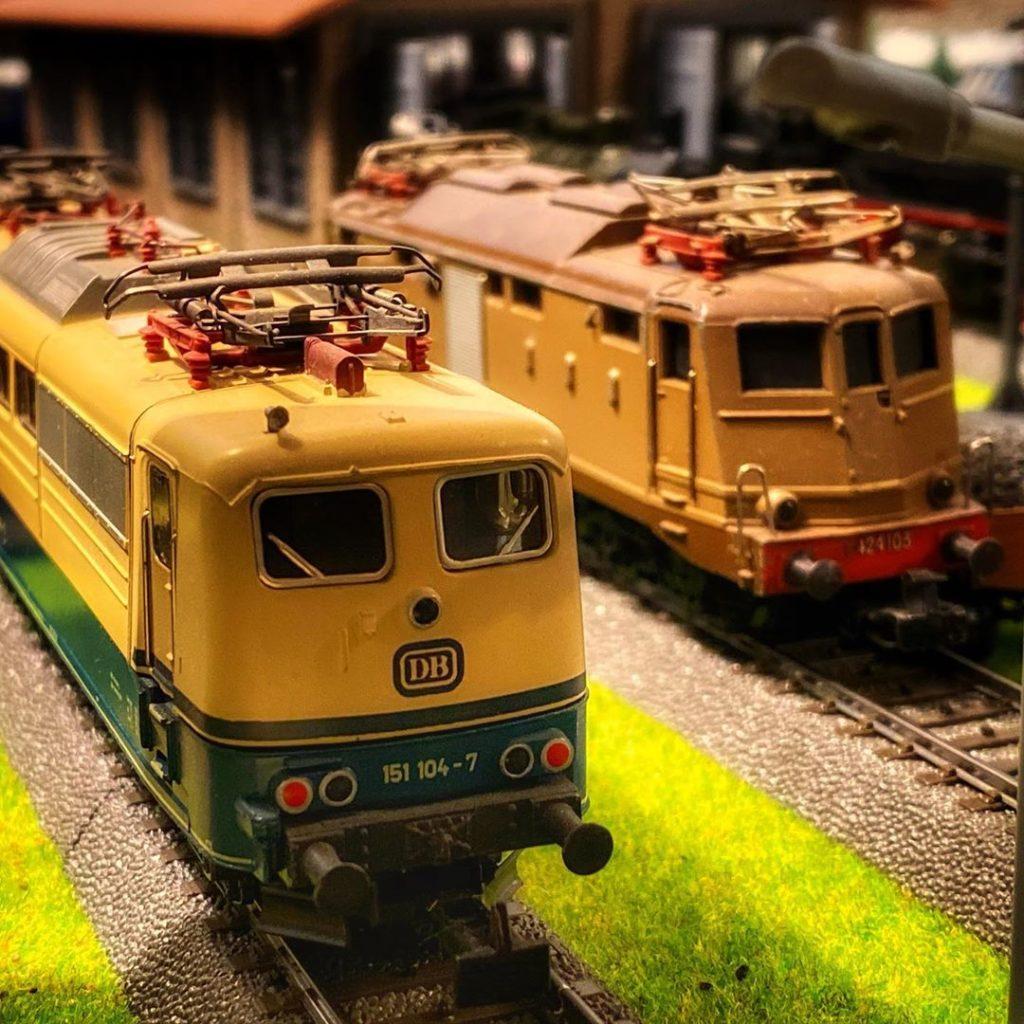 Märklin BR151 und E424
