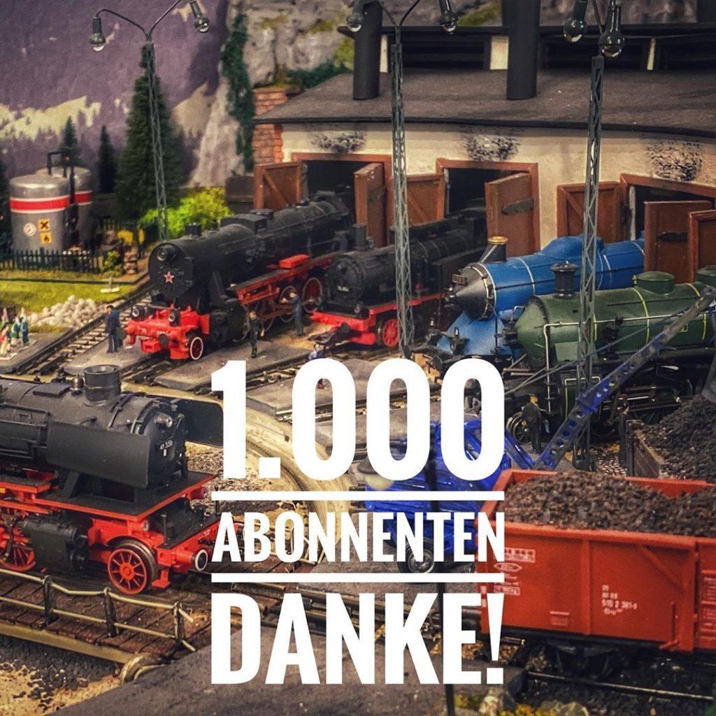 1000 Abonnenten Instagram